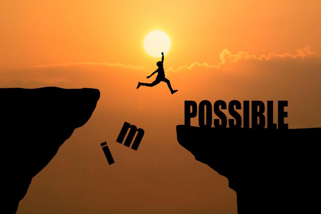 Rien est impossible, il suffit de s'en donner les moyens, de persévérer, de croire en ses idées et le reste viendra