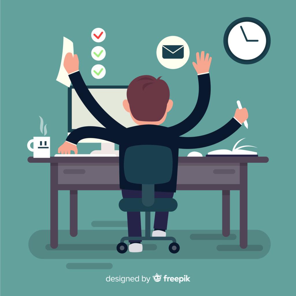 Le fait d'être multi-taches ne vous permet pas forcément d'augmenter votre productivité